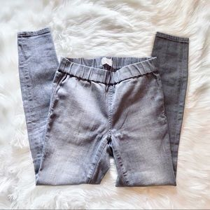Lou & Grey Denim Leggings in Grey sz S